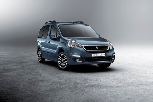 Новый Peugeot Partner Tepee Electric
